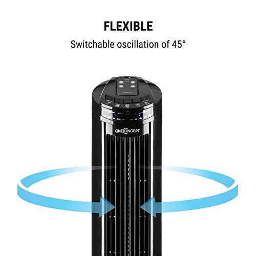 Oneconcept – Ventilador Vertical, 40 W de Potencia
