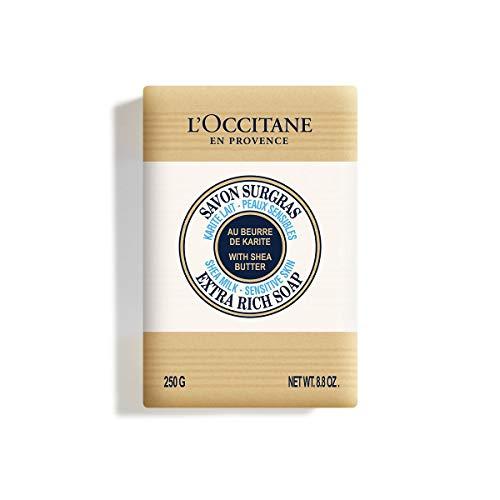 L Occitane Shea Milk Sensitive Skin Extra Rich Soap, 8.8 oz