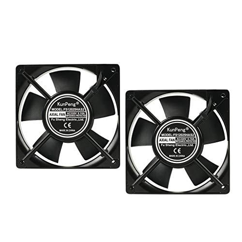yotijar 2X Ventilador Ventilador Enfriador Accesorio Adecuado para
