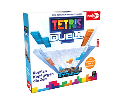 Noris 606101799 – Tetris Duell, das packende Eins-gegen-Eins Strategiespiel für Groß und Klein, ab 6 Jahren