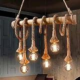 ZXZCHGN Araña Ligera luz Industrial Vintage Colgante Colgante luz Retro Lantern lámpara de lámpara Colgando luz, for la Cocina Isla Comedor Sala de Estar vestíbulo