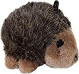 Booda PETMATE 291480 Hedgehog Soft Bite Toy for Pets, Large, Brown