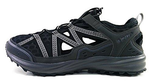 Hi-Tec Sandalia Sensor Trail Shandal (Black/Charcoal) (42)