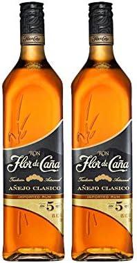 Ron Flor de Caña 5 años de 70 cl - D.O. Nicaragua - Bodegas ...