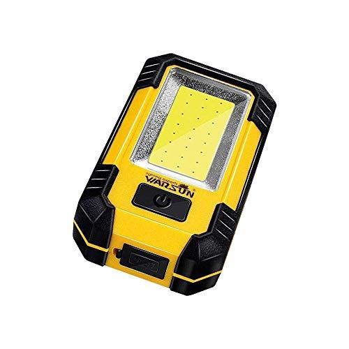 BXU-BG 30W 21 LED recargable COB tienda de campaña luz del trabajo de la linterna portátil con gancho imán de la luz de emergencia LED de luz de camping Ligero