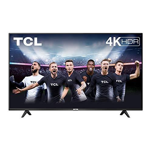 TV TCL 50P616 50 pollici, 4K HDR, Ultra HD, Smart TV con sistema Android 9.0, Design senza bordi...
