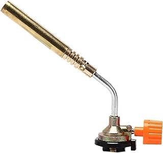 Gasfakkel, vlamfakkel, vlammenwerper brander butaan gas blaasfakkel, handontsteking zaklamp voor camping/lassen/BBQ/koken/...