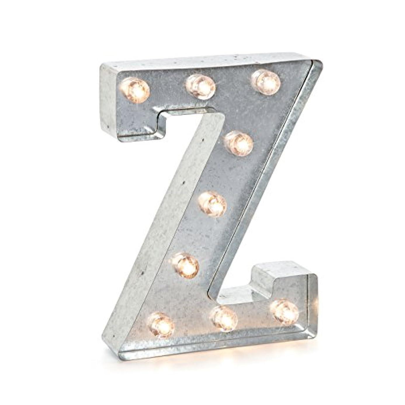 Darice 9.875 METL Marquee Silver Z