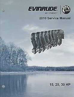 2010 EVINRUDE OUTBOARD 15, 25, 30 HP E-TEC SERVICE MANUAL P/N 5008146 (354)