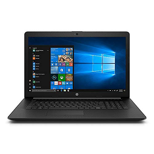 HP17 43,9cm (17 Zoll Mattes Full-HD IPS) Notebook (AMD A6 bis 2X 3,0GHz, 16GB RAM, 250GB SSD, AMD R4, HDMI, USB 3.0, WLAN, Bluetooth, DVD-Brenner, Win 10 Pro) #3680
