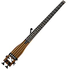 Anygig guitar with Full Scale Length, 25.5 inch scale length. Dexterity: Right-Handed Net weight : 1.5Kg. Strings: 012~053 Acoustic steel strings. Includes Armrest Bone, output jack audio cable & Easy Carry Travel Bag