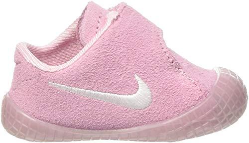 Nike Jungen Waffle 1 Bcv Sneaker, Pink (Prism Pink/White), 18.5 EU
