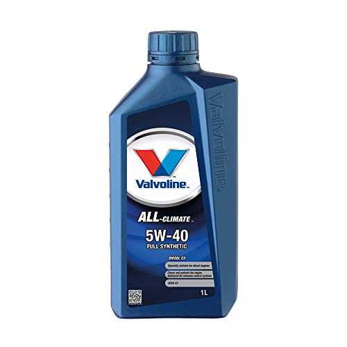 VALVOLINE Aceite de Motor Motor Motor Motor Motor Motor Aceite Diesel All Climate C3 5W-40 1L