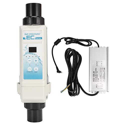 hong Generador de Cloro salino, EC20 20G/H SPA Generador de Cloro Electrolizador Piscina Sistema de cloración Salina para Piscinas, Piscinas de SPA
