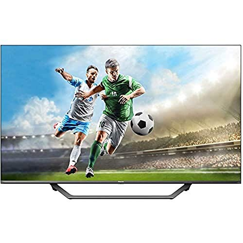 "Televisor Hisense Uhd TV 2020 43A7500F - Smart TV 43"" Resolución 4K, Dolby Vision, Wide Color Gamut, Audio Dts Virtual-X, Ultra Dimming, Vidaa U 4.0, Compatible Alexa, Gris"