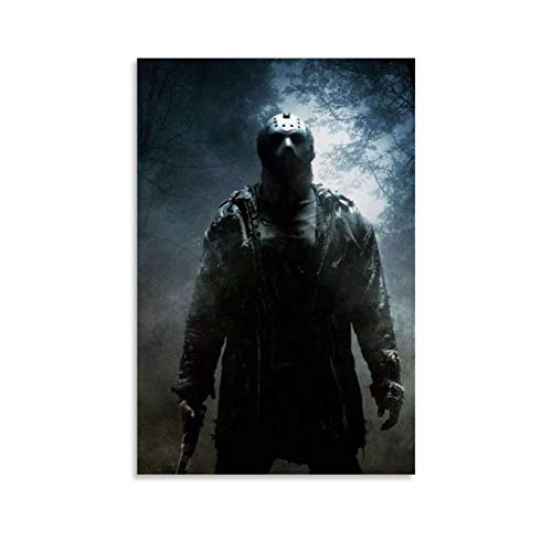 American Horror Film Friday The 13th The Final Chapter Jason Voorhees 1 Poster Decorative Painting Canvas Wall Art Living Room Posters Bedroom Painting 12x18inch(30x45cm)