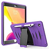 Jennyfly Shockproof Case for iPad Air 3, Shockproof Hard Rugged Durable 3-Layer Protective
