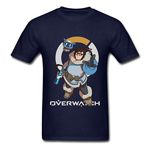 2016 Attractive Mei Overwatch Male T-Shirts Small