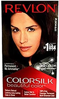 Revlon Colorsilk Hair Color, Brown Black 2N