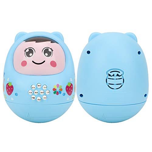 Tnfeeon Kind Story Telling Machine, elektronische frühe Kindheit pädagogische Tumbler Spielzeug Kind lesen Spielzeug Dekoration Geschenk(Blau)