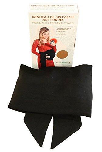 Bandeau de grossesse anti-ondes - Noir