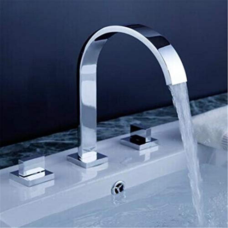 Wasserhahn Küche Bad Garten Chrom Poliert Zwei Griffe Deck Montiert Badezimmer Weit Verbreiteten Wasserhahn.Badezimmer Waschbecken Waschbecken Mischbatterie Ctzl6416