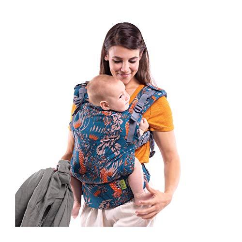 Fular Boba X Portabebés - Adaptable, Micro- Mochila de Estructura Suave y Ajustable para los Bebés de 7-45 lbs (Mademoiselle)