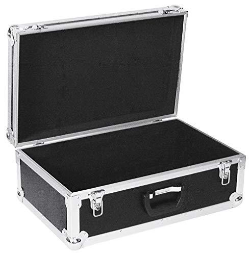 ROADINGER Universal-Koffer-Case Tour Pro schwarz | Flightcase Tour Pro | Schaumstoffgepolsterter Innenraum
