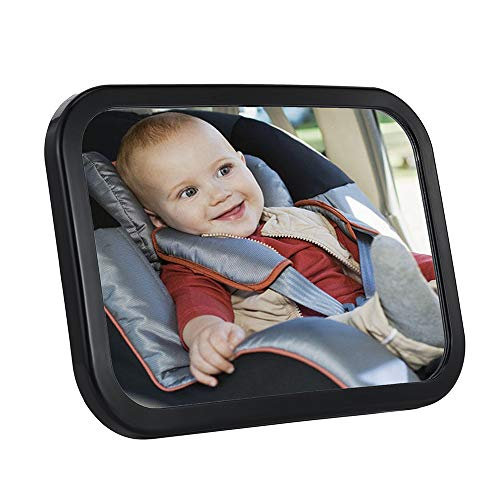 Why Choose SDY Baby Car Mirror Safety Car Seat Mirror for Rear Facing Infant with Wide Crystal Clear...