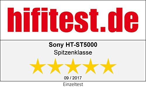 Sony HT-ST5000 7.1 Kanal Soundbar mit Dolby Atmos (800W, High-Resolution Audio, Wi-Fi, 4K HDR pass-through, HDMI, USB) Schwarz
