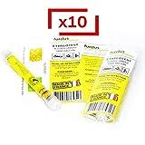 Le Pro du Médical - Éthylotest jetable 0.5 g/l - Norme NFX - Lot de 10 éthylotests