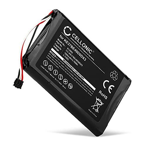 CELLONIC® Batería de Repuesto 361-00035-00, KE37BE49D0DX3 Compatible con Garmin Edge 800 / Edge 810 / Edge Touring, 1000mAh Accu GPS Pila sustitución Battery