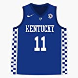 Leyland Designs University of Kentucky Jersey Sticker Outdoor Rated Vinyl Sticker Decal for Windows, Bumpers, Laptops or Crafts 5'