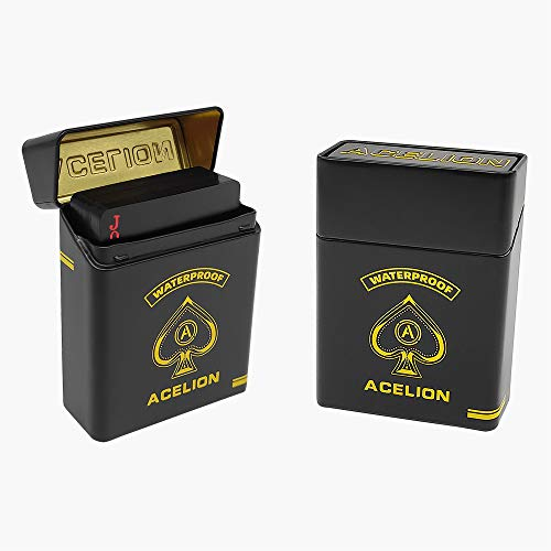 ACELION Playing Cards Case, Playing Cards Box, Playing Cards Tin ( 2 PCS )