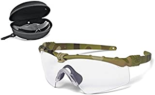 SI Ballistic M-Frame 3.0 Shooting Glasses Multicam Frame/Clear and...