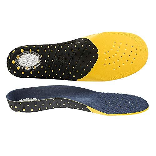 Naffic Solette ortotiche a tutta lunghezza con supporti per arco Inserti ortotici per piedi piatti, solette per scarpe per fascite plantare, dolore ai piedi, solette leggere e confortevoli…