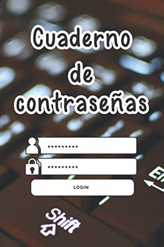 Cuaderno de contraseñas: Libreta de contraseñas, Libro Password , datos de usuario, claves de acceso y direcciones de Internet: ️ Elegante cuaderno A5 de primera calidad con ...