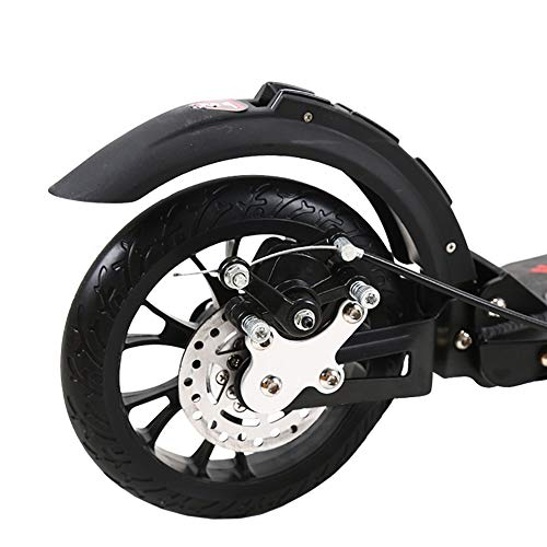 Why Should You Buy Scooter Kick Black Adult Kick with Handle Bar, Folding Double Shock-Absorbing wit...