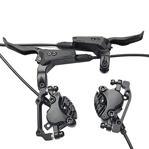 Binchil MTB Hydraulic Disc Brake Set for Mountain Bike Bicycle,E-Bike,Fat Bike, M8000 Upgrade Kit for Mechanical Disc Brake