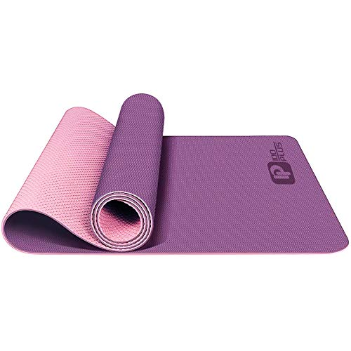 iMustech Yoga Mat Non Slip Workout Mats for Home Eco Friendly Yoga Mats for Women Fitness Thick Exercise Yoga Mats with Carrying Strap and Carrying bag for Yoga, Pilates and Floor Exercises