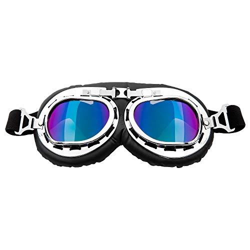 Diealles Shine Gafas de Sol para Perros, Correas Ajustables Perro Gafas para Protección para los Ojos