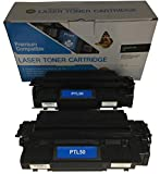 2 Compatible Black Cannon PC-1061 L50 Printer Copy Ink Toner Cartridge Replacement for Canon L5O PC1061 Personal Digital...