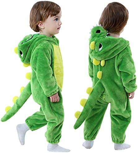 Lizard costume boy