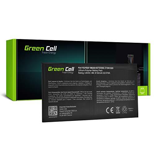 GC® Laptop Akku für Asus Transformer Book T100T T100TA T100TA-B1-GR T100TA-C1-GR (Li-Polymer Zellen 8150mAh 3.8V Schwarz)