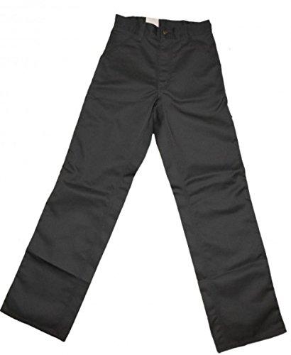 Carhartt Skateboard Hose Simple Pant Graphite, Hosengrösse:W26 / L32