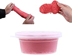 Cloud Slime, Soft Floam Cloud Sand Slime Putty Sludge Non-Sticky Super Soft Scented Stress Relief Toy for Kids Adults