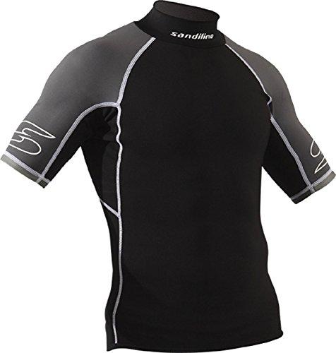 Sandiline Herren Neoprenshirt Funktionsshirt kurzarm T-Shirt 0,5 mm, Größe:XXL