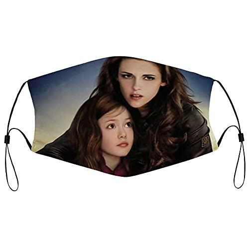 Best-design The Twilight Saga cómodas bandas elásticas ajustables para hombres y mujeres decoración de la cara, neutral y reutilizable elegante funda lavable