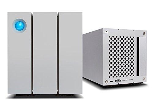 LaCie 2big Thunderbolt 2 RAID 12TB External Hard Drive Desktop HDD – USB 3.0 7200 RPM Enterprise Class Drives, for Mac and PC Desktop Data Redundancy (STEY12000400)