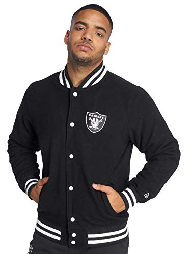 New Era Herren Jacken/College Jacke Oakland Raiders schwarz S
